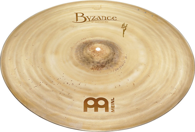 "Meinl 22"" Byzance Sand Crash/Ride"