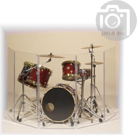 Clearsonic A2448x7 (A4-7) Drum Shield