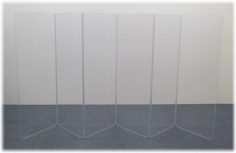A2466x6 (A5-6) Drum Shield Clearsonic
