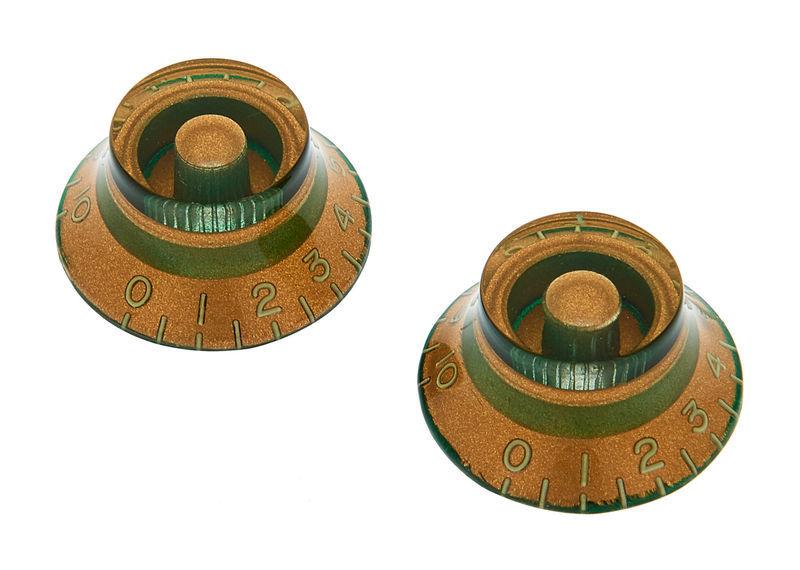Montreux 217 Bell Knob Set Relic GD