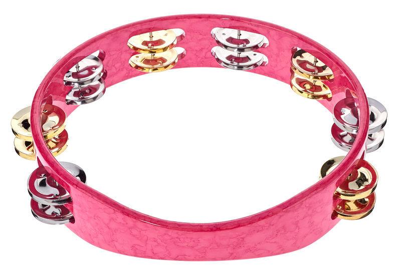 """Toca TCT10-PK 10"""" Tambourine Pink"""