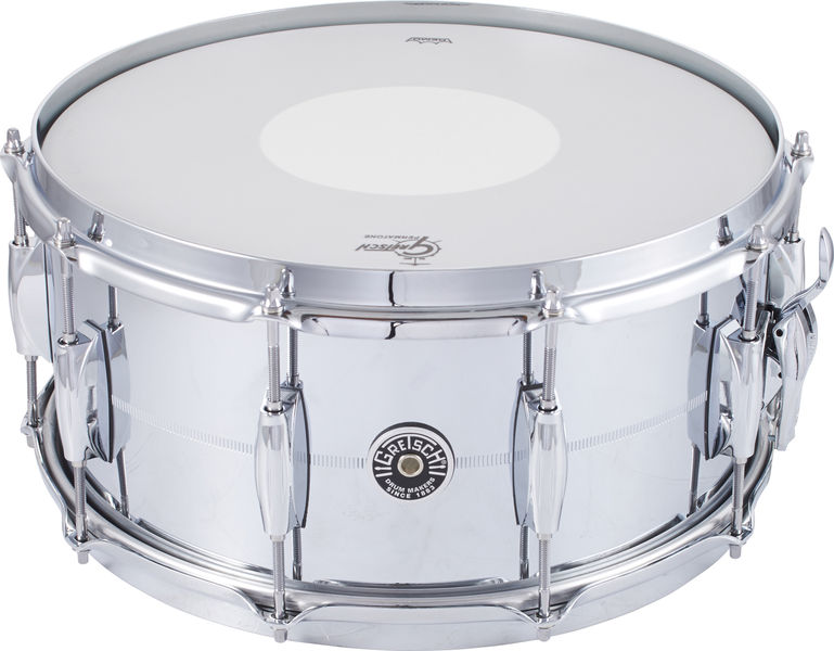 "Gretsch 14""x6,5"" Brooklyn Chrome/Brass"