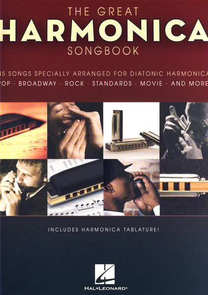 Hal Leonard The Great Harmonica Songbook