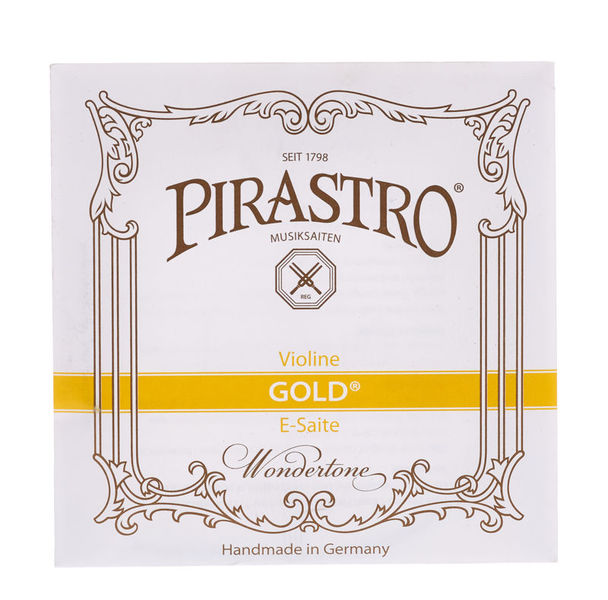 Pirastro Gold E Violin 4/4 KGL Light