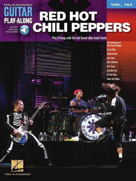 Hal Leonard Guitar Play-Along Red Hot