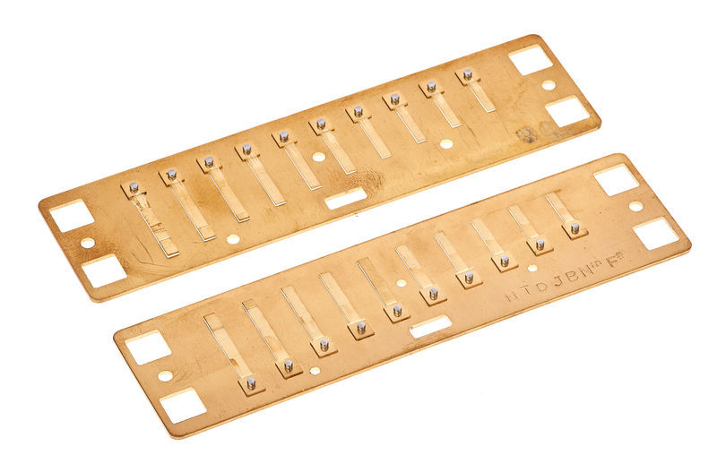Lee Oskar Natural Minor Reedplates F#
