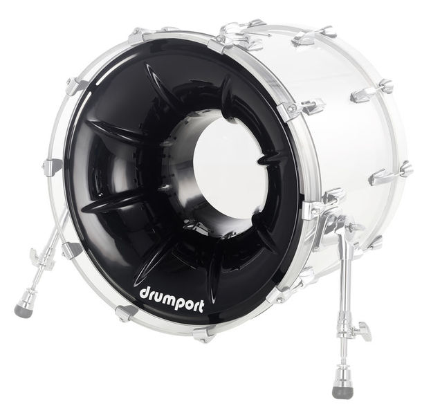 "Drumport 20"" Megaport Booster Black"