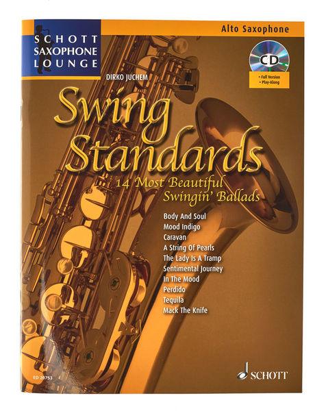 Swing Standards A-Sax Schott