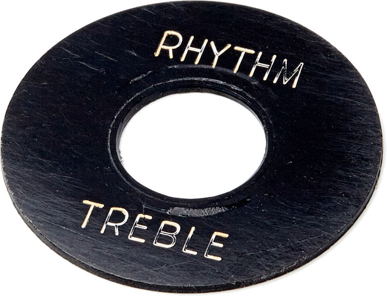Montreux 404 -59LPC Black Toggle Plate