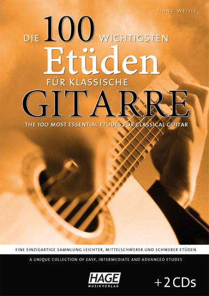 100 Etudes Classical Guitar Hage Musikverlag