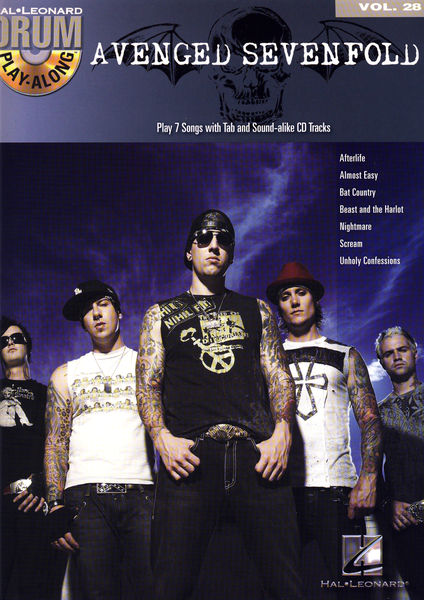 Hal Leonard Drum Play Avenged Sevenfold