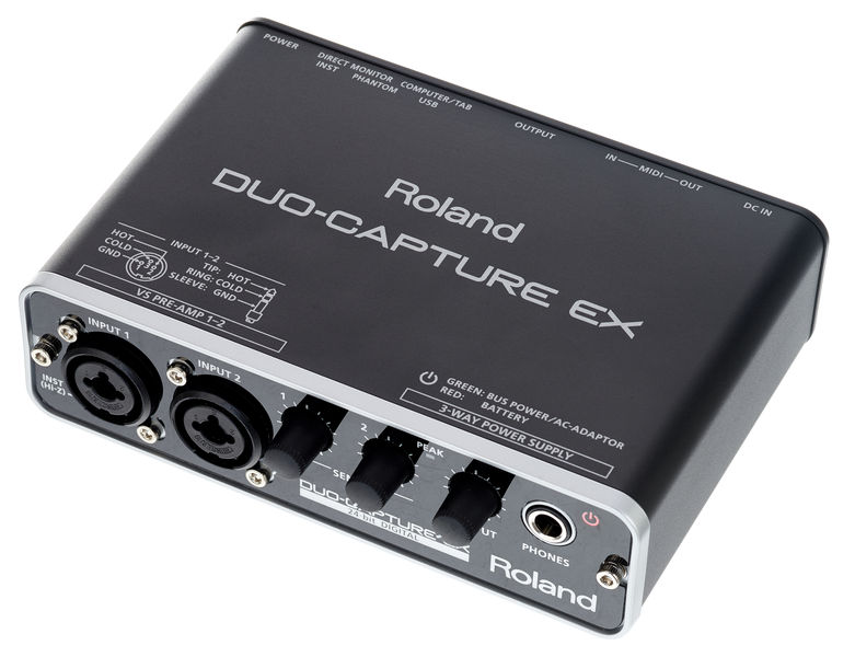 Roland UA-22 Duo Capture-Ex