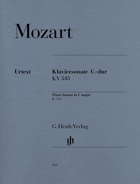 Henle Verlag Mozart Sonate C-Dur KV 545