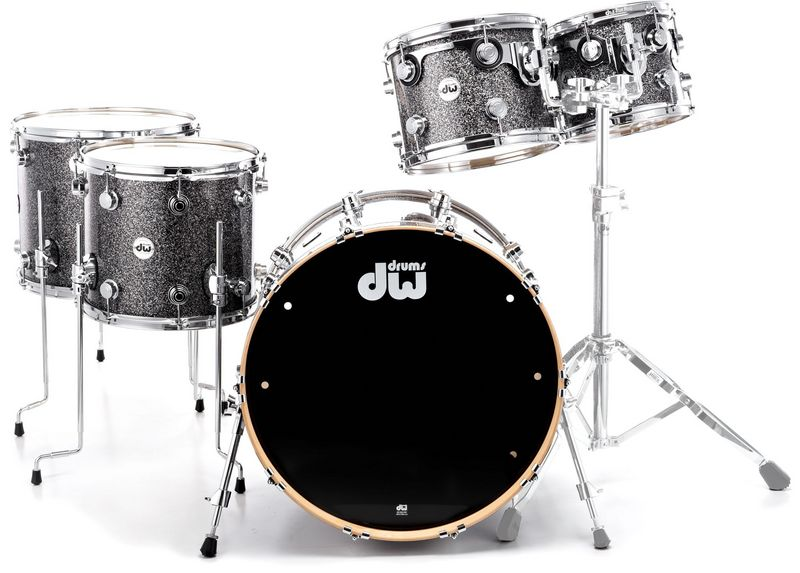 DW Finish Ply Black Galaxy SSC+
