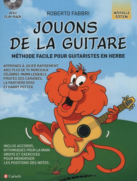 Edition Carisch Jouons De La Guitare