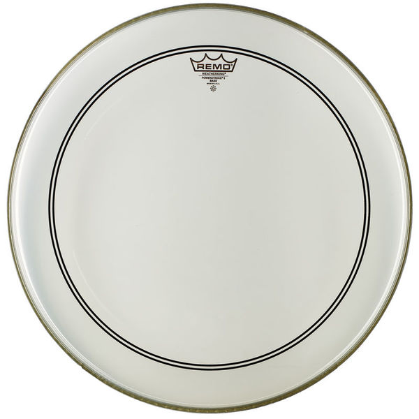 "Remo 23"" Powerstroke 3 Clear Bass"