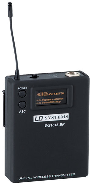 LD Systems Pocket Transmitter for Roadboy