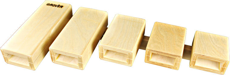 Grover Pro Percussion TPB-X Temple Blocks