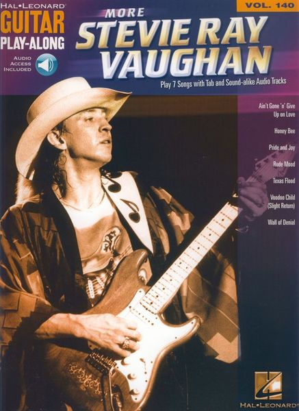 Hal Leonard More Stevie Ray Vaughan Guitar