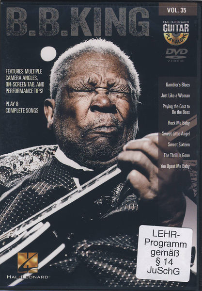 Hal Leonard Guitar Play Along B.B.King