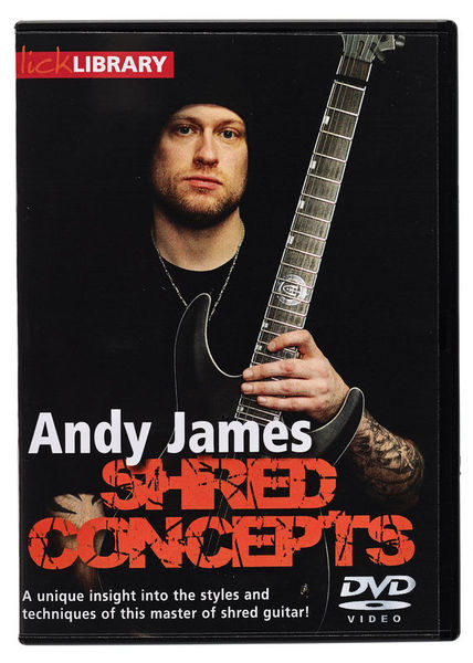 Roadrock International Shred Concepts b.Andy James