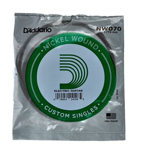 Daddario NW070 Single String