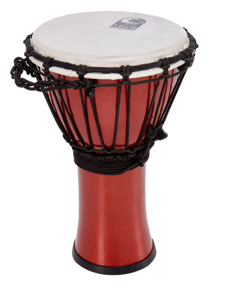 "Toca 7"" Color Sound Djembe Red"