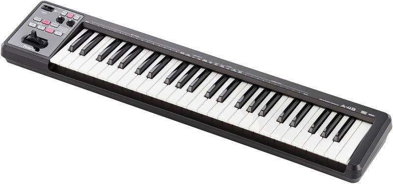 Contr/ôleur de clavier MIDI Roland A-500PRO Noir.