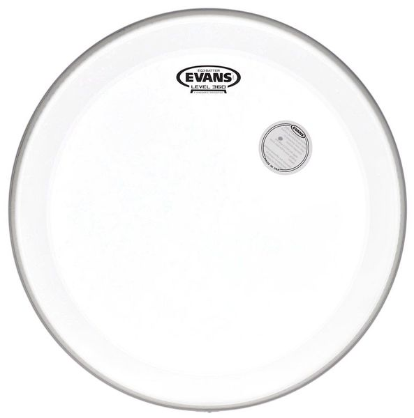 "Evans 18"" EQ3 Bass Drum Frosted"