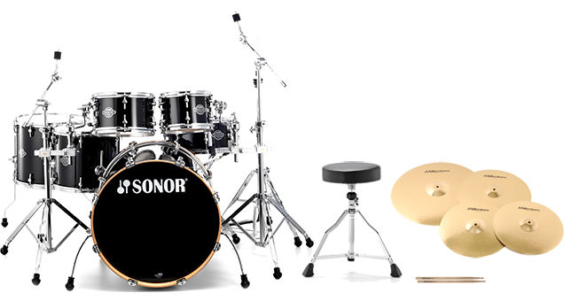 Sonor Essential Force Black S Set