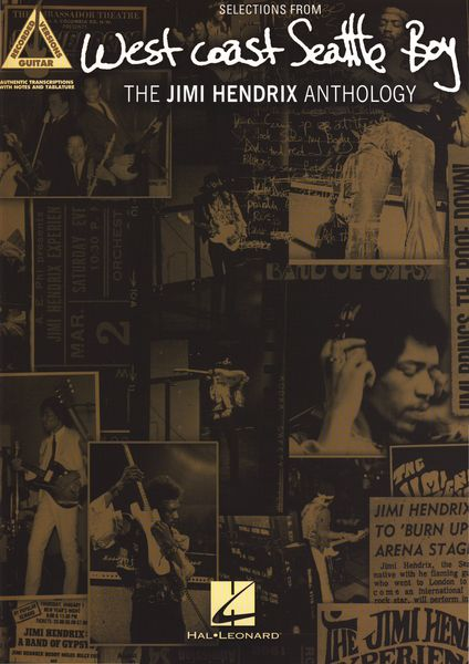 Hal Leonard The Jimi Hendrix Anthology