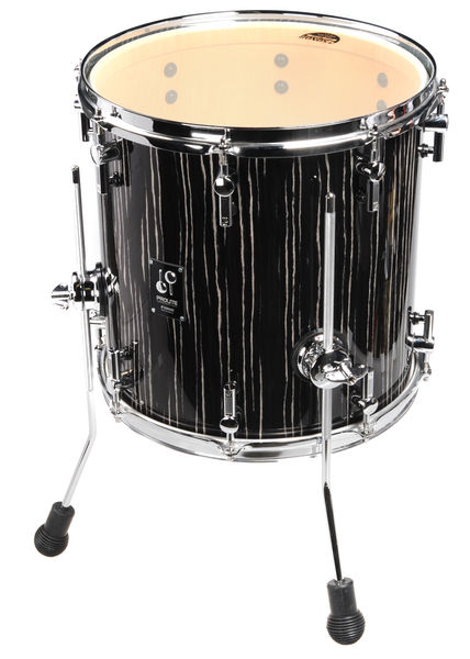"Sonor ProLite 14""x14"" FT Ebony White"