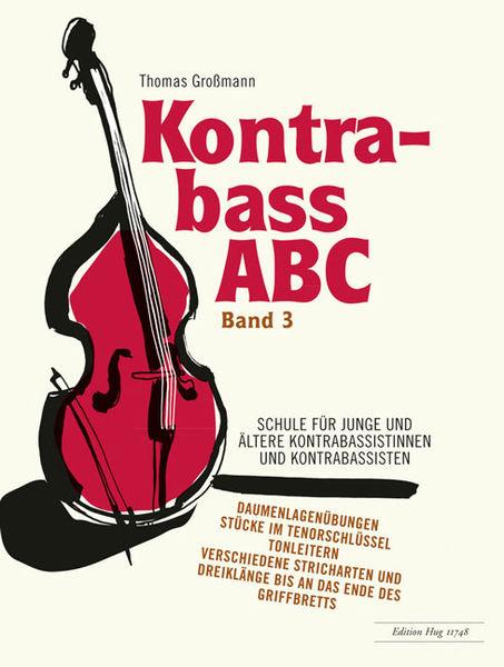 Edition Hug Kontrabass ABC 3 Schule