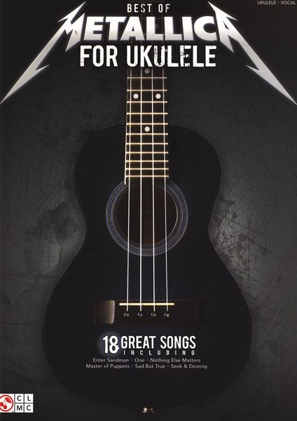 Hal Leonard Best Of Metallica For Ukulele