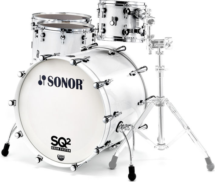 Sonor SQ2 Shell Set Maple White