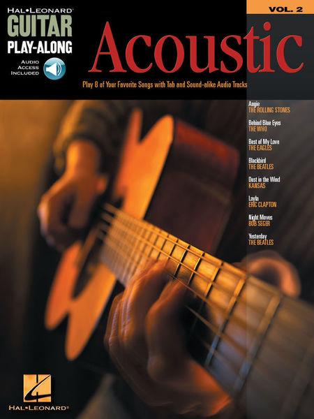 Hal Leonard Guitar Play-Along Acoustic