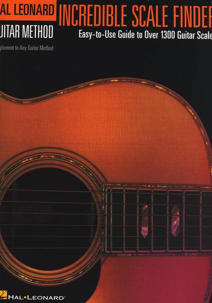 Incredible Scale Finder Hal Leonard
