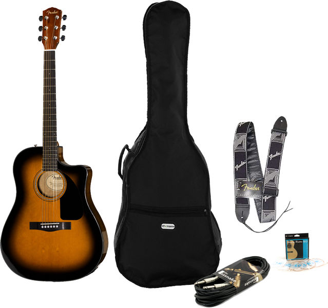 Fender CD-60 CE SB Bundle