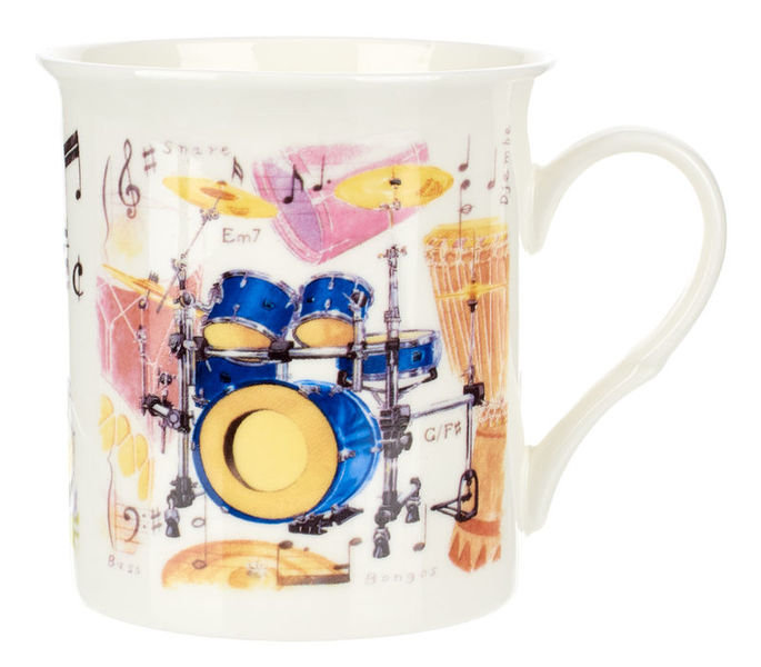 Music Sales Noble Coffee Mug Drums