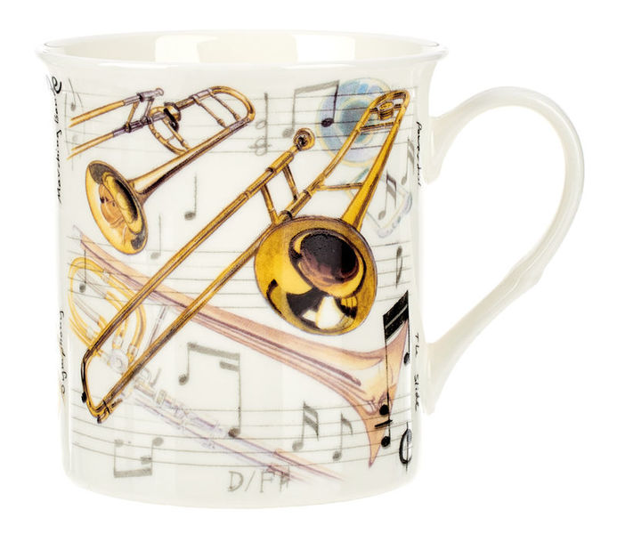 Music Sales Noble Coffee Mug Trombone