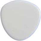 Blanton Mandolin Pick White
