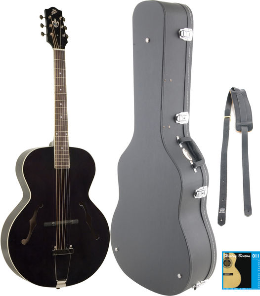 The Loar LH-300 BK Bundle