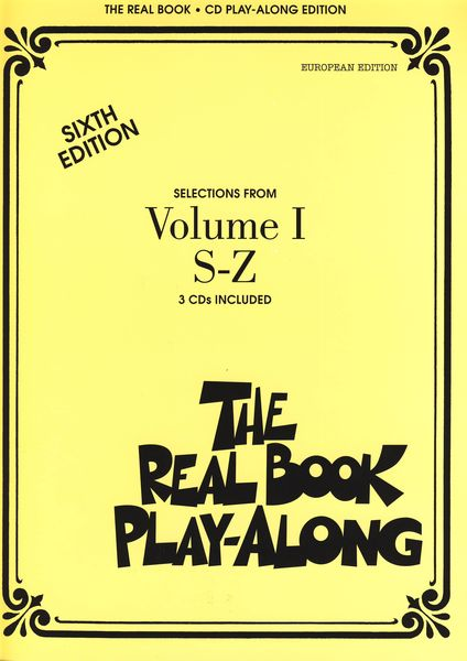 Hal Leonard Real Book CD Play-Along S-Z