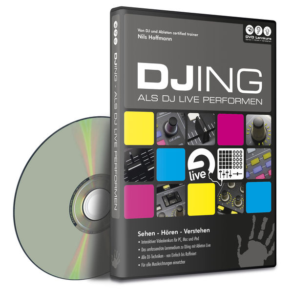 DVD Lernkurs Hands On Ableton Live Vol.4