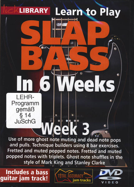 Music Sales Slap Bass In 6 Weeks - Week 3