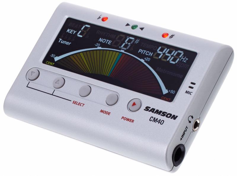 Samson CM40 Chromatic Tuner/Metronome
