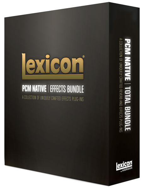 Lexicon PCM Native Effects Bundle