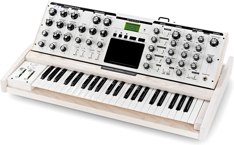 Moog Voyager Performer Stage Ed. Wh