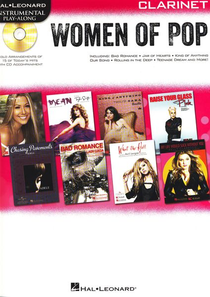 Hal Leonard Women Of Pop Clarinet