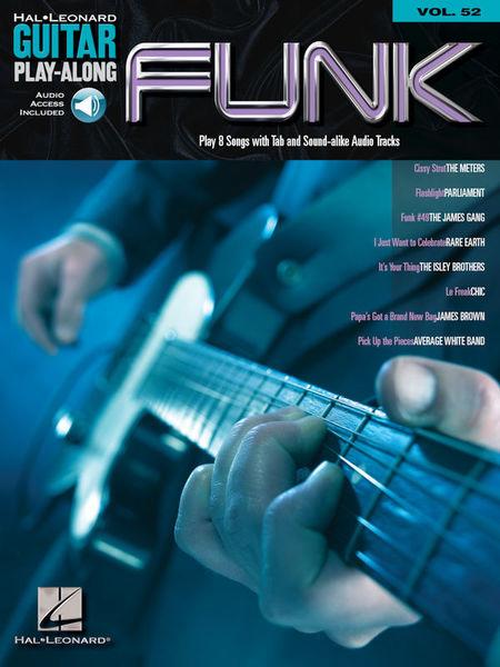 Hal Leonard Guitar Play-Along Funk